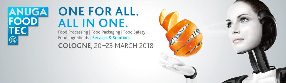 Anuga FoodTec в Германии | 2018