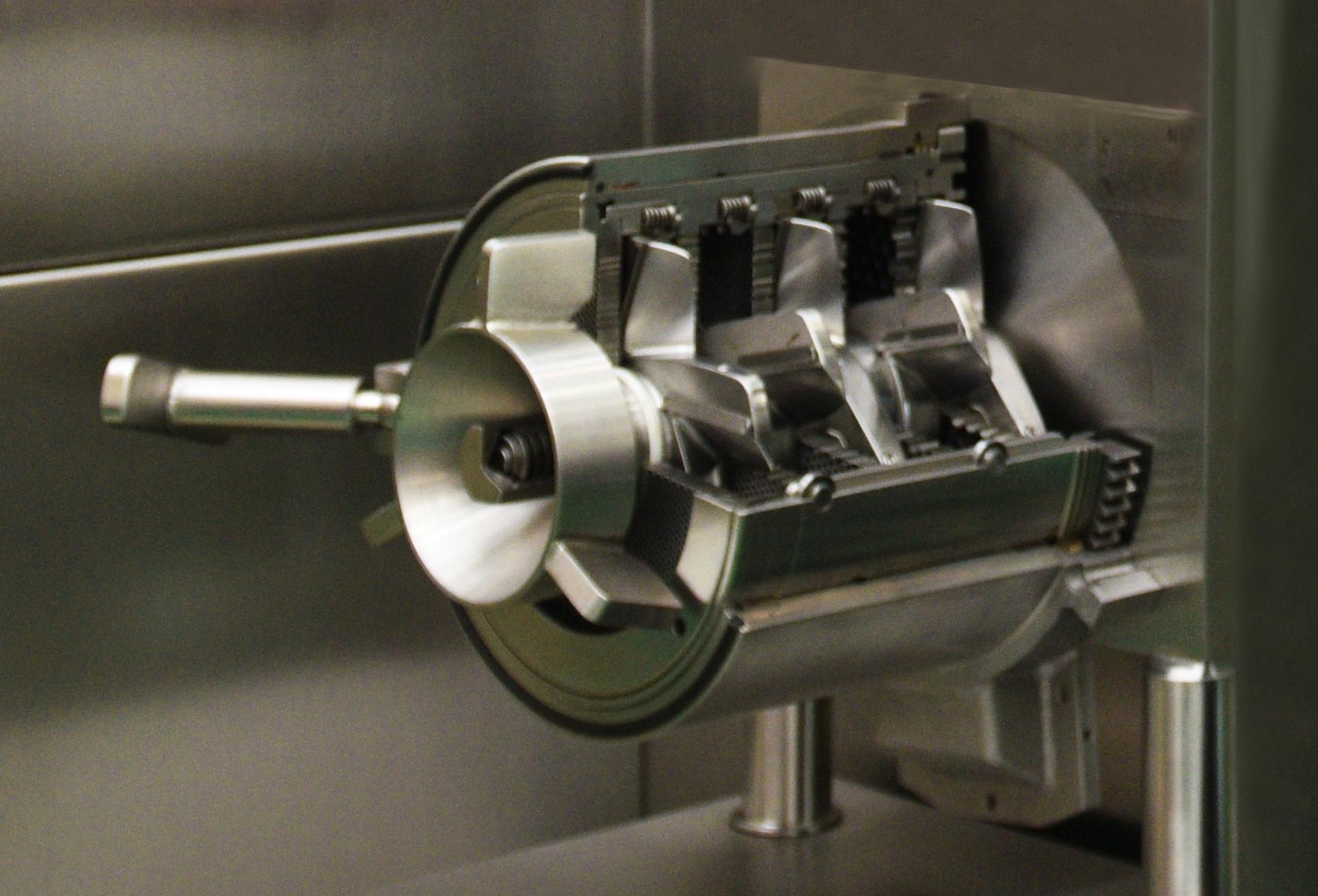 Модульная система ножевой головки Inotec - пяти ножевого режущего комплекта.